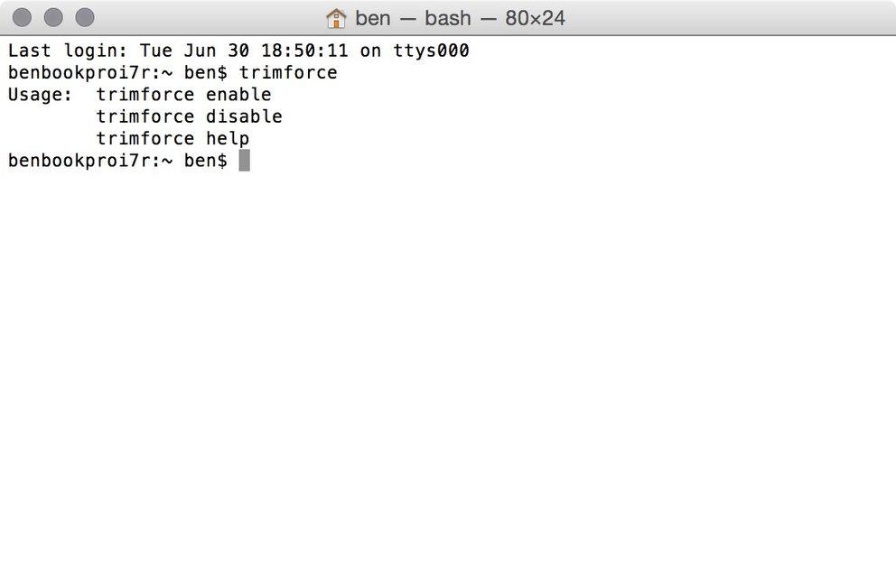 OS X 10.10.4 trimforce
