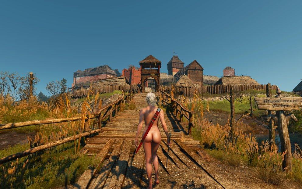 Mit der Nackt-Mod könnt ihr eure exibitionistische Ader in The Witcher 3 ausleben.