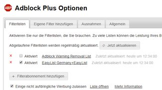 AdBlock Plus für Chrome