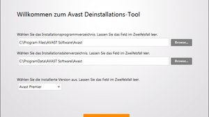 Avast Software Uninstall Utility
