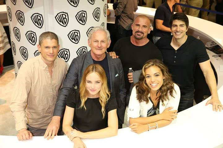 Ein Teil des Cast von DC's Legends of Tomorrow.