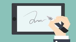 Unterschrift in PDF einfügen - So wird's gemacht