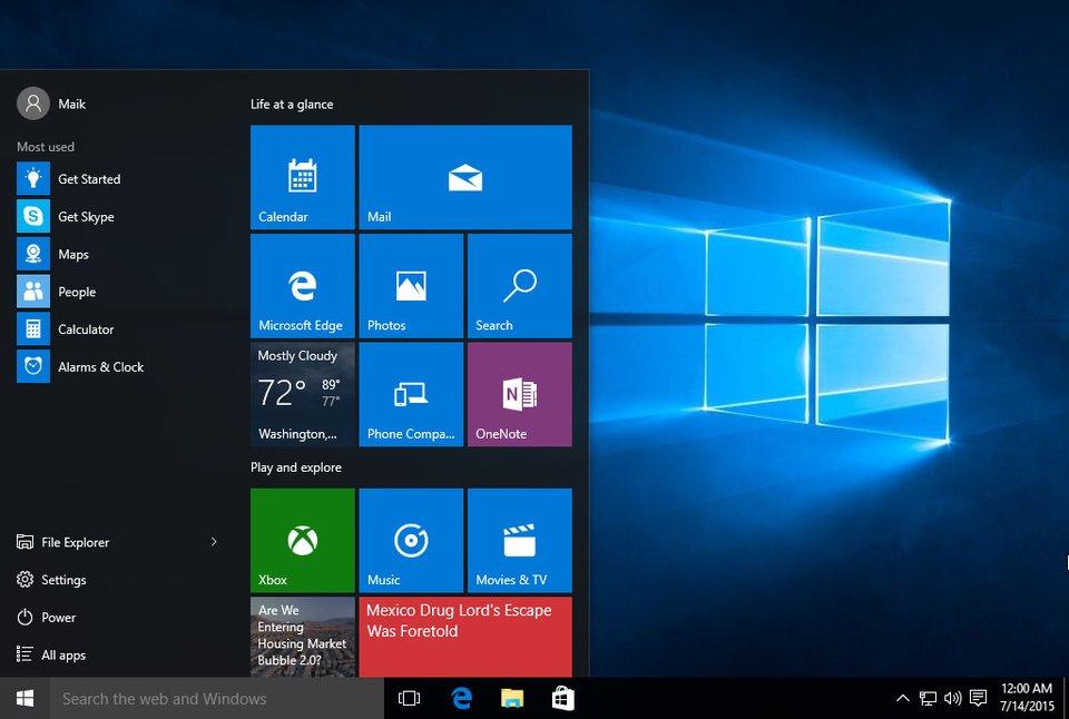 Windows 10 soll alte Product Keys nicht ungültig machen.