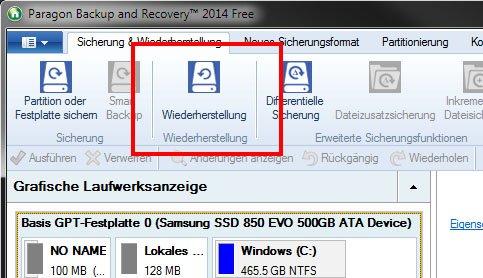 Ein Backup wiederherzustellen, ist oft die beste Variante, um zu seinem alten Windows zurückzukehren.
