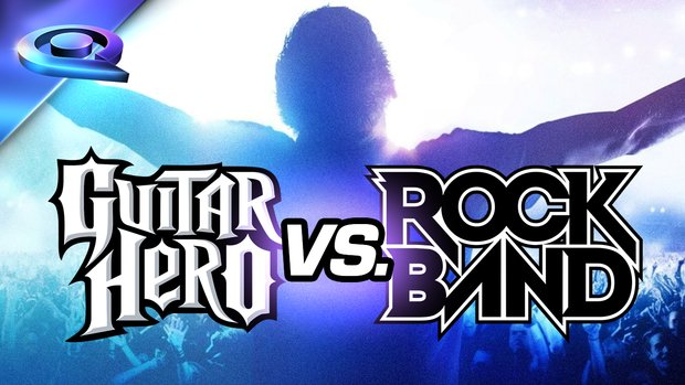 gamescom 2015: Guitar Hero vs Rock Band 4 - Der Showdown!