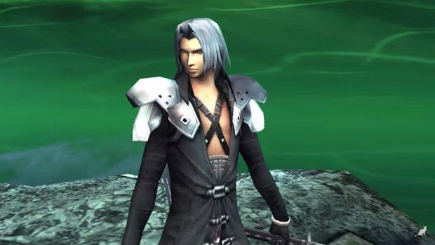Seht hier Sephiroth & Cloud in Super Smash Bros. Brawl!