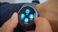 Samsung Gear S2: Hands-On-Video zur Dreh-den-Ring-Smartwatch [IFA 2015, Update: vorbestellbar]