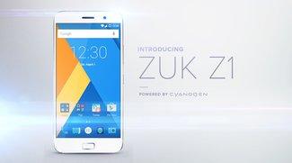 Lenovo ZUK Z1: Smartphone mit USB Type C, 4.100 mAh-Akku & Cyanogen OS vorgestellt [Update: Globale Version angekündigt]