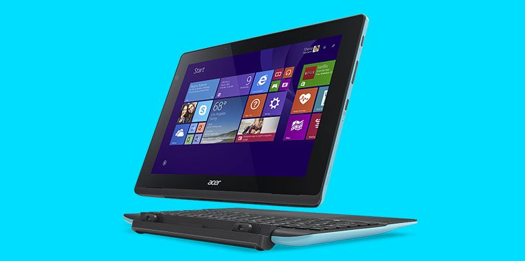Acer Aspire Switch 10 E: Notebook und Tablet in einem.
