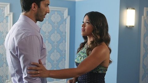 Jane und der Samenspender Rafael treffen sich zwangsläufig wieder.