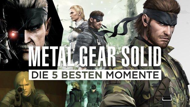 Die 5 besten Momente aus Metal Gear Solid!