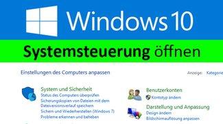 Windows 10: Alte Systemsteuerung öffnen – so geht's
