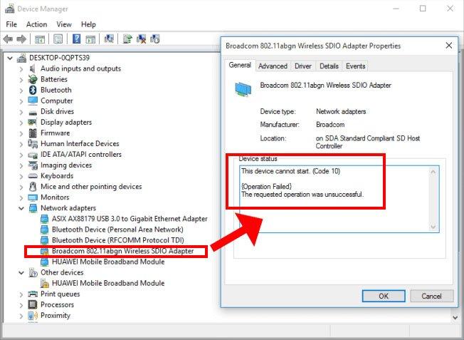Windows 10 hat Probleme mit WLAN-Adaptern von Broadcom. Bildquelle: Winfuture