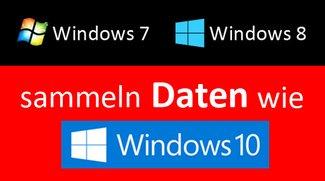 Windows 7 und 8 sammeln Nutzerdaten wie Windows 10 – So deaktiviert ihr's