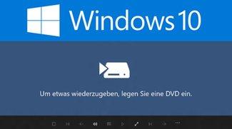 Windows 10: DVDs abspielen – So geht's