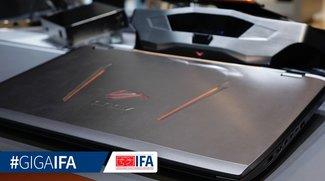 Asus ROG GX700 Gaming-Notebook mit Wasserkühlung im Hands-On Video (IFA 2015)