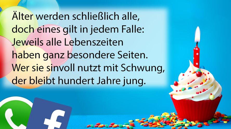 geburtstagsgrüße und -wünsche für whatsapp, facebook & co. - bild