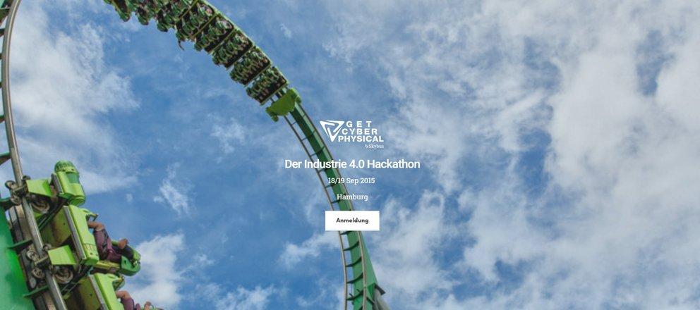 Hackathons 2015 im september get cyberphysical screenshot der veranstaltungshomepage