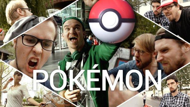 Pokémon GO: Noch nie gezeigte Szenen aus dem Real-Life-Trailer!