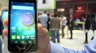 Acer Liquid Z330: Einsteiger-Smartphone im Hands-In-Video [IFA 2015]