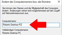 Windows 10: Computername ändern – so geht's