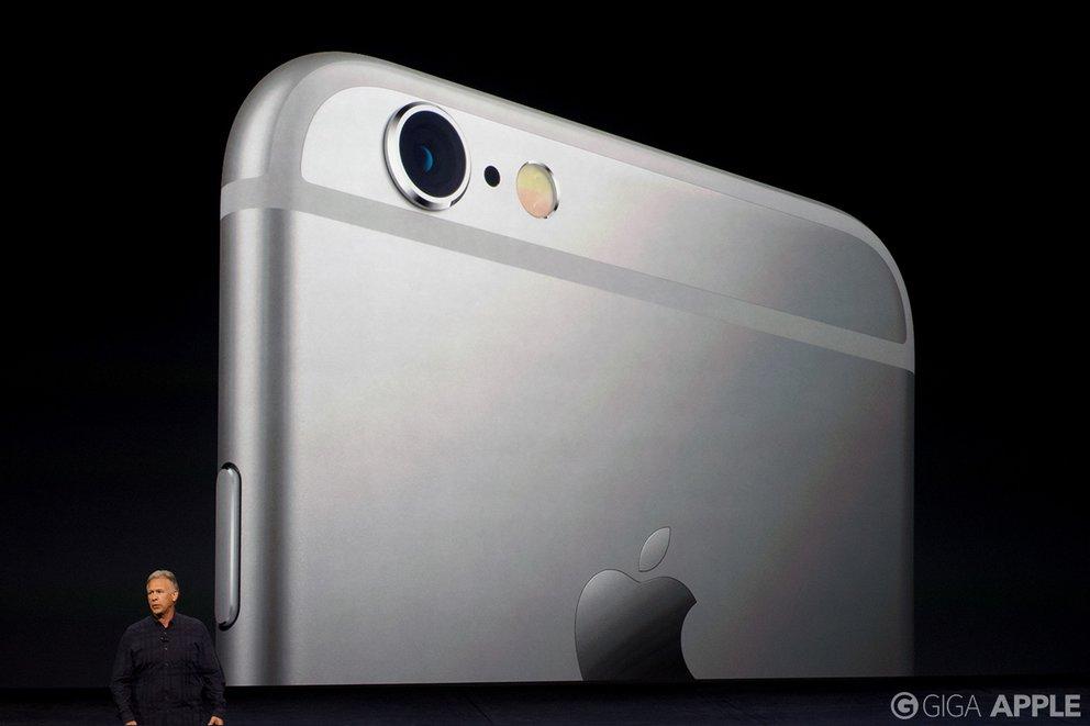 iPhone 6s und iPhone 6s Plus – neue Kameras. Foto: giga.de