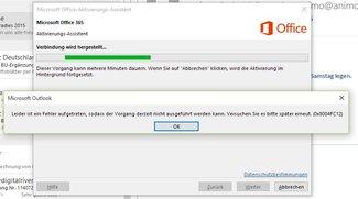Fehler 0x8004FC12 beheben: Office 2016, 2016 und 365 lassen sich unter Windows 10 nicht aktivieren