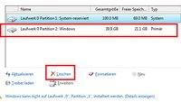 Partition löschen – So geht's in Windows