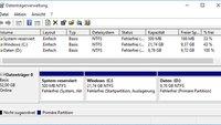 Partition vergrößern in Windows 7, 8 und 10 – So geht's