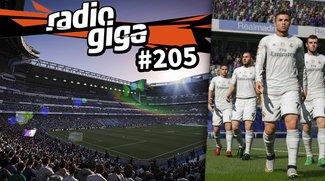 radio giga #205: Alle Jahre wieder - sind Spiele wie FIFA 16 ihr Geld wert?