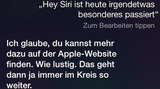 Betthupferl: Die Siri-Zusammenfassung des Abends