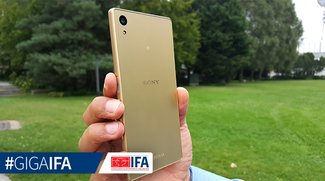 Sony Xperia Z5: 5,2-Zoll-Flaggschiff mit seitlichem Fingerabdrucksensor im Hands-On-Video [IFA 2015]