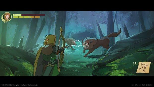 Dieses Spiel mischt The Witcher 3 mit Ni No Kuni und sieht fantastisch aus