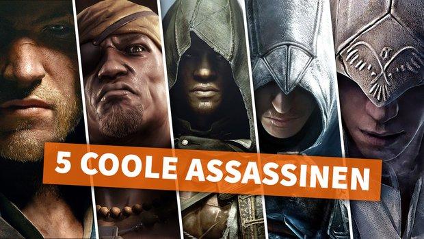 Die 5 coolsten Helden aus Assassin's Creed