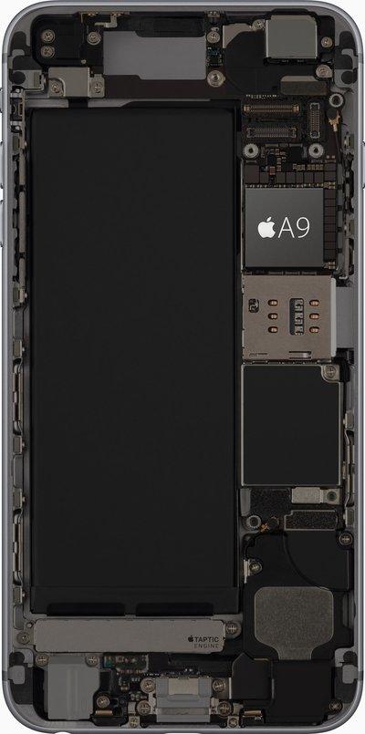 Der Apple A9 im iPhone 6s