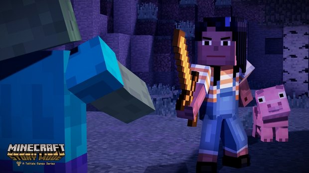 Minecraft Story Mode: Seht hier den neuen Trailer zum Telltale-Adventure!
