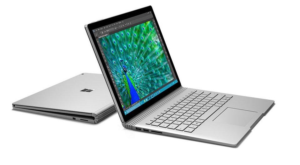 Der erste Laptop von Microsoft: das Surface Book.
