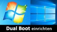 Windows 10: Dual Boot einrichten mit Windows 7 – so geht's