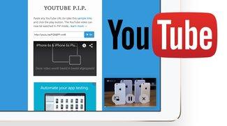 iOS 9: YouTube-Videos mit Bild-in-Bild-Modus auf dem iPad sehen (Trick)