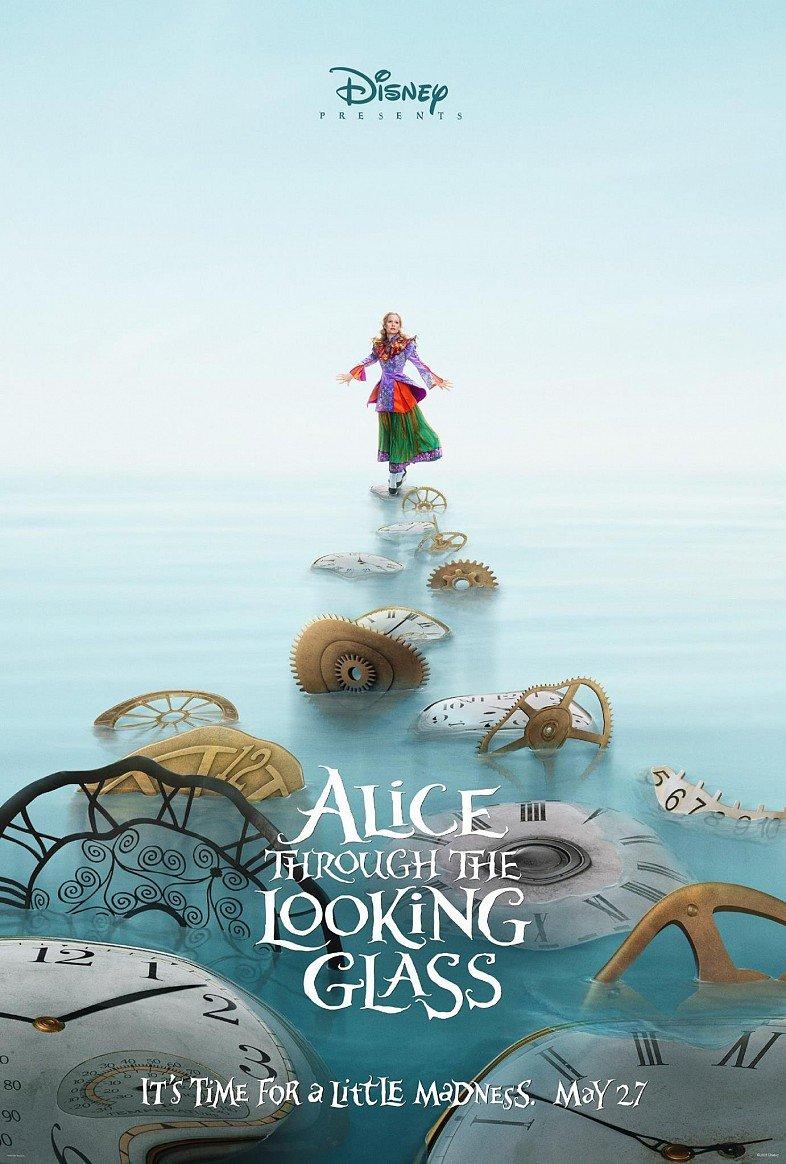 Offizielles Poster zu Alice im Wunderland 2