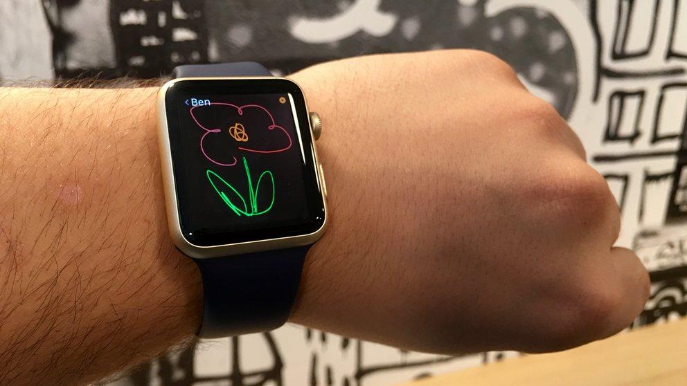 Apple Watch Zeichnungen