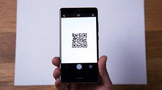 Das Huawei Mate S hat einen integrierten QR-Scanner – so funktioniert er