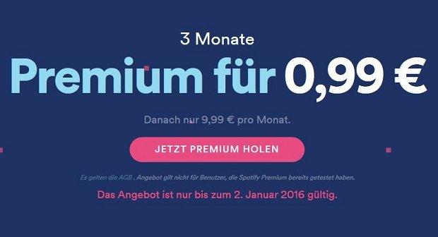 Spotify-Premium 3 Monate für fast umsonst nutzen - So geht's