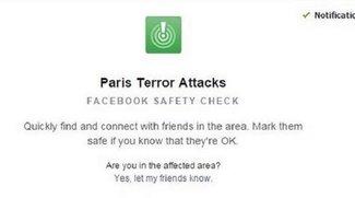 Terror in Paris: Facebook stellt Sicherheits-Tool online