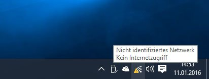 Windows 10: Hier besteht aufgrund eines Fehlers in den Einstellungen kein Internetzugriff.