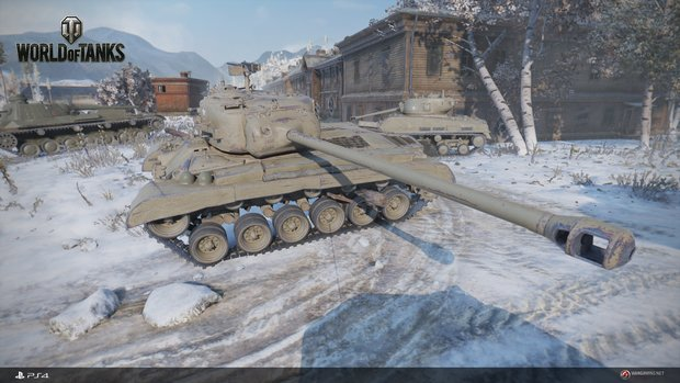World of Tanks: Termin der PS4-Beta steht fest!