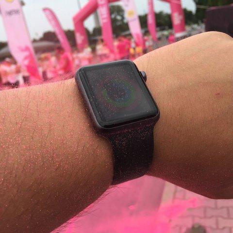 Mit der Apple Watch beim Color Run Berlin