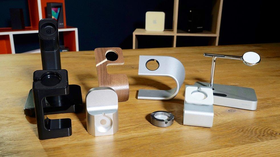 Apple Watch Docking-Stationen im Test