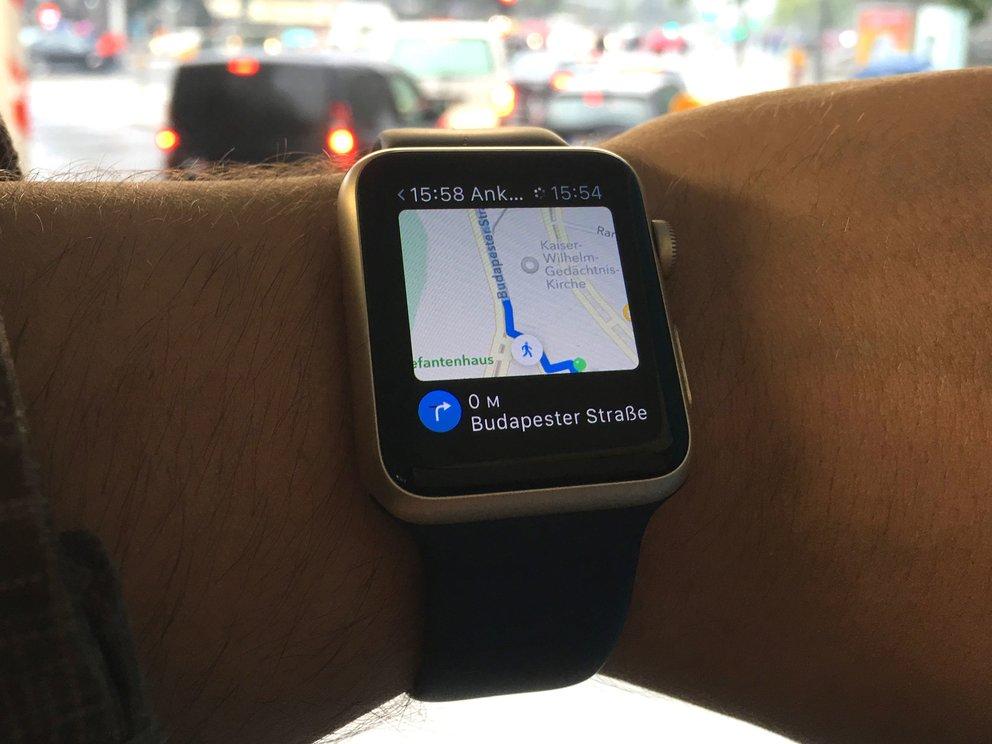 Navigation mit der Apple Watch