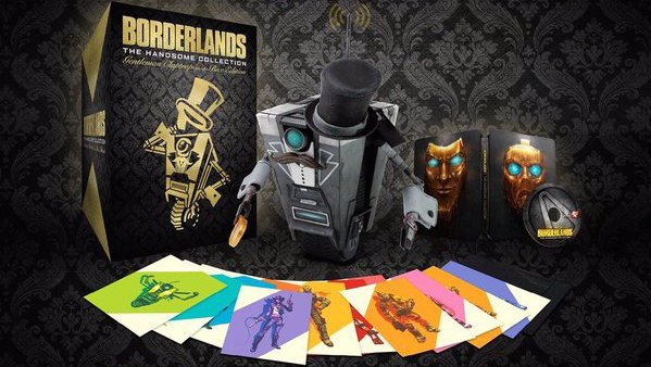 Borderlands The Handsome Collection: Edition mit Claptrap-Figur angekündigt